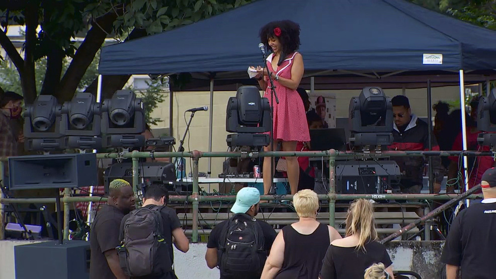 Portland Black Lives Matter Groups Speak Out Against Violence Katu