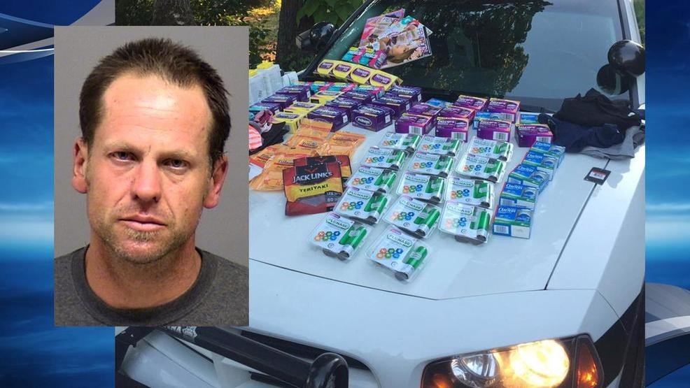 Sheriff: Wanted man caught with $2,200 in stolen goods from