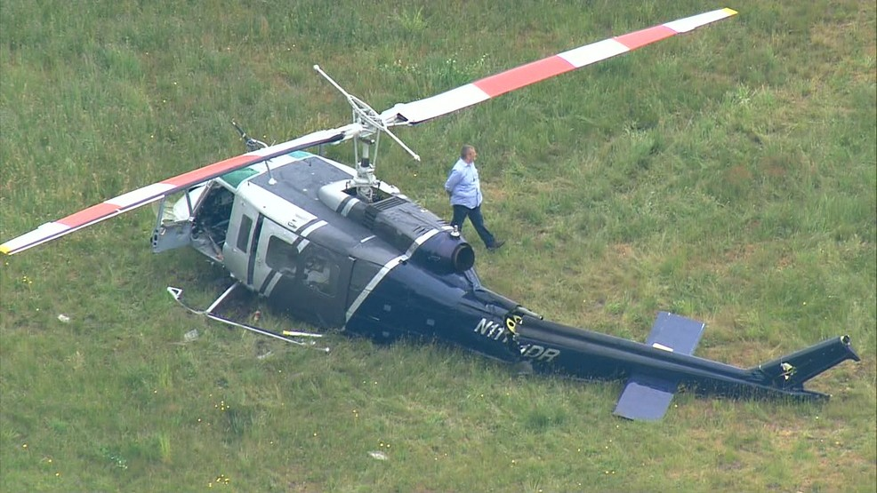 Minor injuries after helicopter crash in Tumwater | KATU
