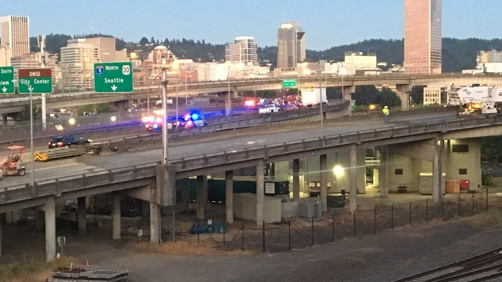 I-84 westbound and all lanes of I-5 reopen after police