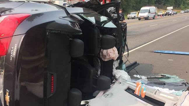 Police: Head-on crash closes two lanes of Highway 30 near
