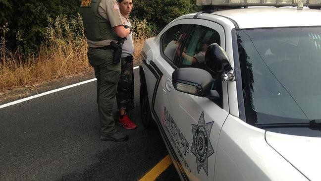 Clackamas County Sheriffs Office Cops Stake