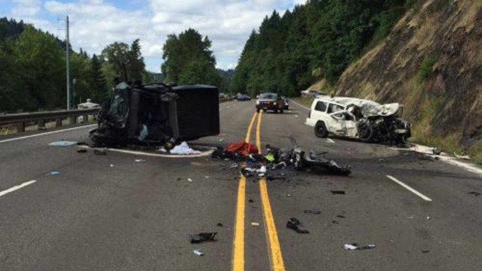Head-on collision on Hwy 99E results in multiple serious