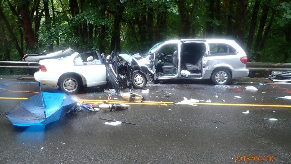 Passenger in June 10 Hwy 6 crash dies from injuries   KATU