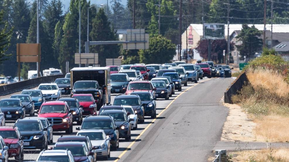 Heavy traffic as thousands head home from path of totality | KATU on portland traffic, wftv traffic, wkyc traffic, abc news traffic, san clemente traffic, koin traffic, kgw traffic,