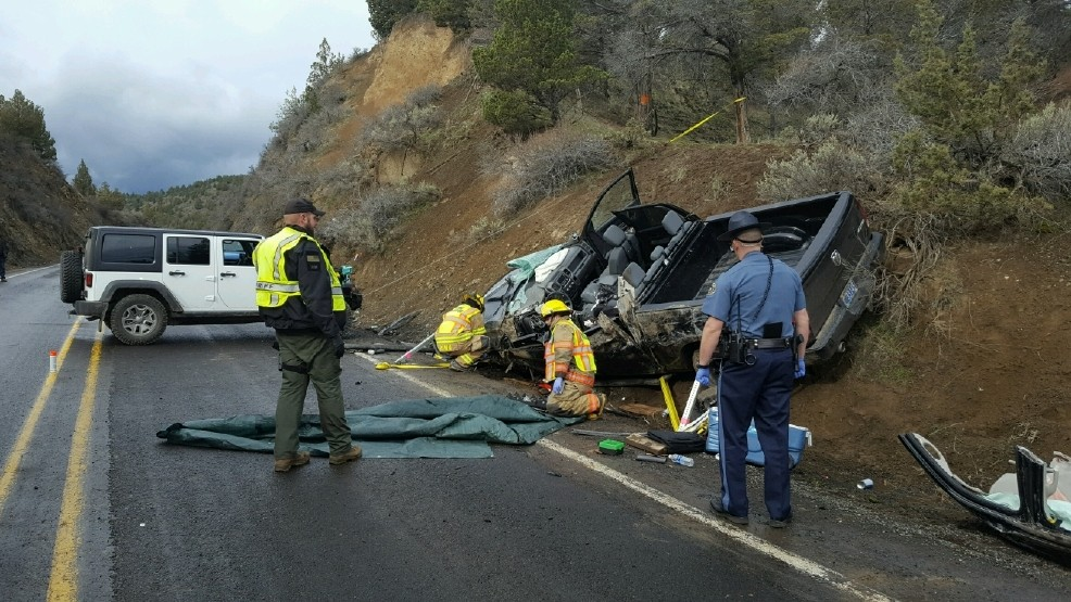 Driver dies after striking rock wall on Hwy 26 near Prineville | KATU
