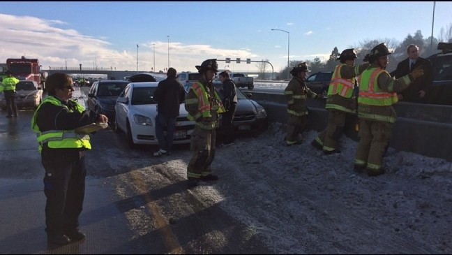 46 vehicles, logging truck collide in massive I-84 pileup near Boise