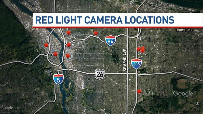 More Red Light Cameras May Be Coming To Portland If City Council Approves Ordinance Katu