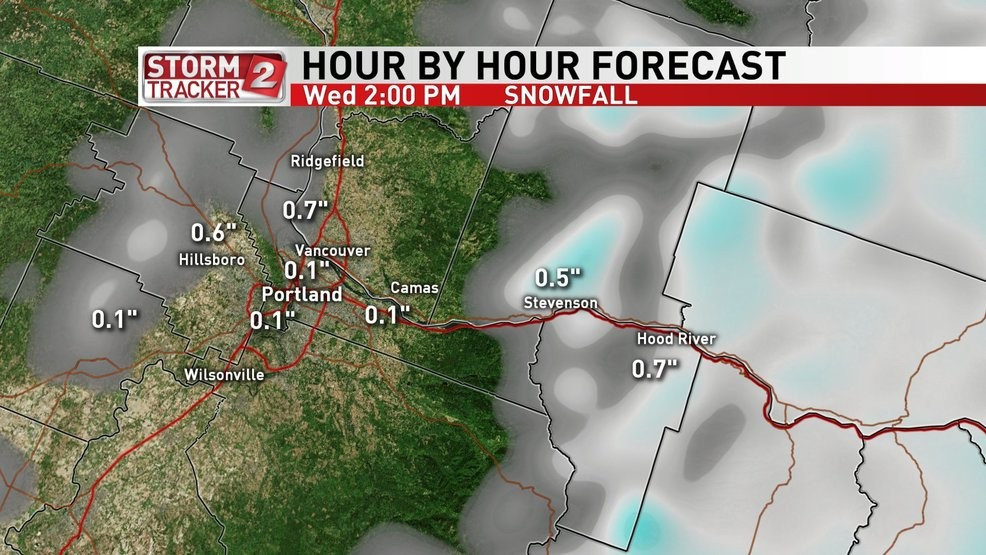 Storm Tracker Weather Alert: Portland metro likely to see