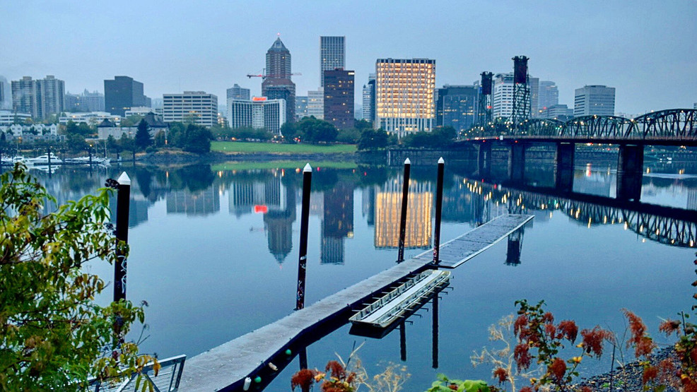 Improved air quality in Portland on Sept. 18, 2020. Photo by Mike Warner