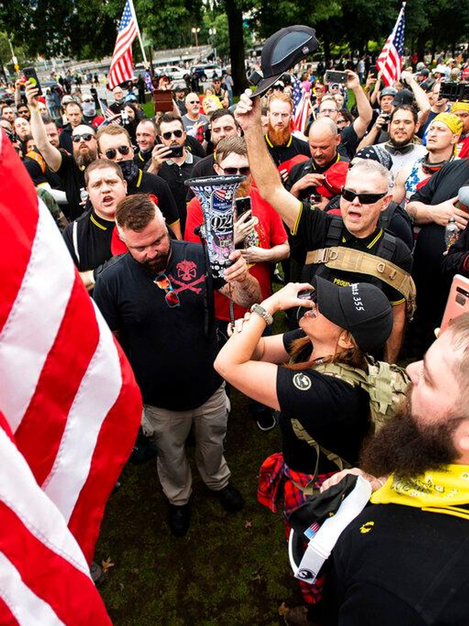 Proud Boys and community groups speak out ahead of Saturday protests | KATU